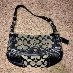 Coach Chelsea Signature Flap Hobo Bag